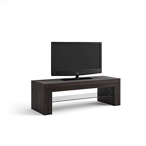 Mobili Fiver Evo Mobile-TV, Holz, Eiche dunkelbraun, 112x 40x 36cm