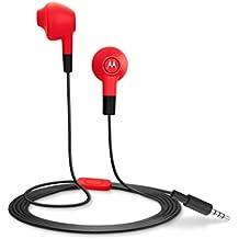 Motorola Lumineer Earbuds In-Ear Headphone (Cherry Red)
