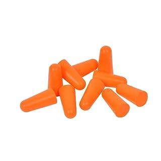 AVIT AV13011 5 Pair Tapered Ear Plugs, Orange