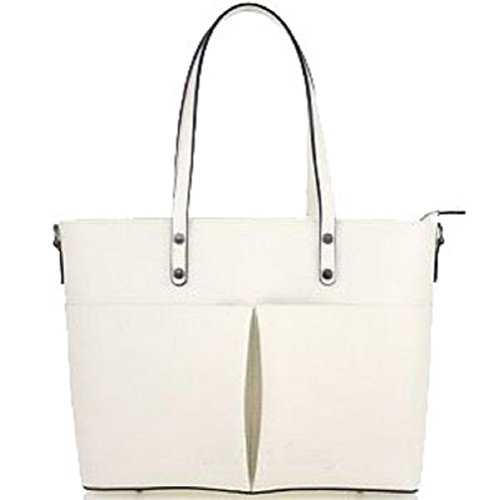 Borsa Donna in vera pelle Bottega Carele made in Italy Beige
