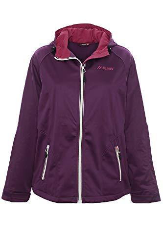 Maier Sports Softshelljacke Outdoorjacke Jacke Anorak Damen, Farbe:Krokus, Damengrößen:50 -