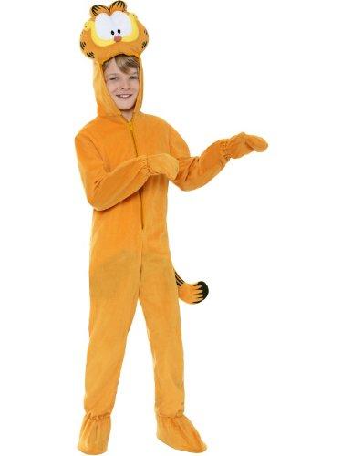 üm Garfield für Kinder orange Gr. 128-134 ()
