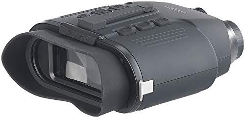 Zavarius Wildkamera: Nachtsichtgerät binokular, bis 700 m IR-Sichtweite, microSD-Aufnahme (Fernglas Kamera)