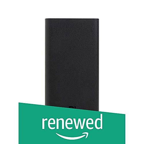 (Renewed) Mi 20000mAH Li-Polymer Power Bank 2i (Sandstone Black) with 18W Fast Charging