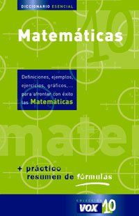 Diccionario esencial de matematicas/Essential Math Dictionary par Aa.Vv.