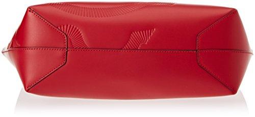Braccialini Damen Vanessa Schultertasche, 13x32x48 cm Rot (Rosso)