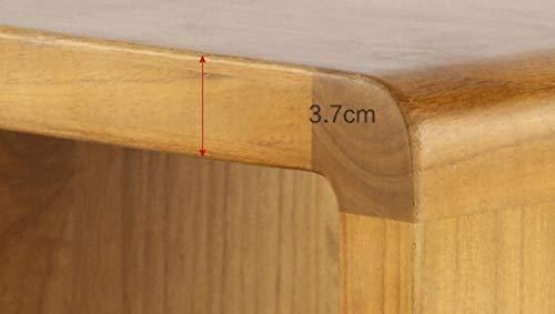 Sgabello in legno massello sgabello rotondo da tavolo sgabello