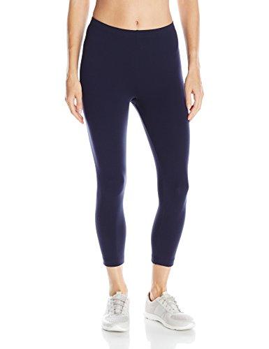 Danskin Damen Legging Gr. XS (US Größe) (US Größe), Midnight Navy (Marineblau) (Danskin Navy Hose)