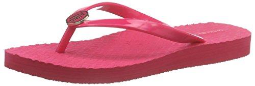 Tommy HilfigerM1285ONICA 33R - Scarpe da Spiaggia e Piscina Donna , Rosa (Pink (PINK SPICE 660)), 38 EU