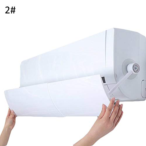 9302sonoaud Deflettore di Schermo deflettore del Vento del condizionatore d'Aria Universale Domestico del Ministero degli Interni 2#