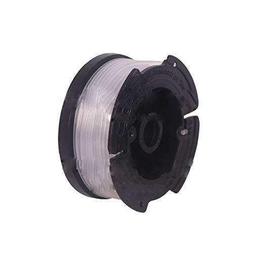 Babysbreath17 6pcs Kompatibel mit Black + Decker Trimmer Linie Spulen Ersatz AF-100 String Trimmer Ersatz Spools Trimmer Zubehör 1 9.14m