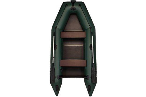 AM-330 Motorboot | Boot mit Motor | Sportboot | Fischerboot | Schlauchboot | Boot mit Rudern | Boot zum Fischen | Paddelboot | Hohe Qualität, Zuverlässigkeit, Garantie vom Hersteller! (Grün)