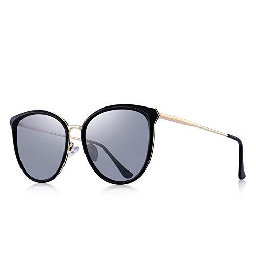 LAMAMAG Sonnenbrille Frauen Cat Eye Polarized Sonnenbrillen Damen Sonnenbrillen UV400 Schutz, f