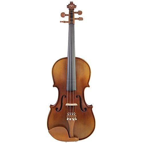 Miiliedy principiante studente bambino adulto violino handmade professionale strumenti da gioco piacevole dolce violinista fiddle con violino box bow rosin chin rest (dimensione : 3/4)