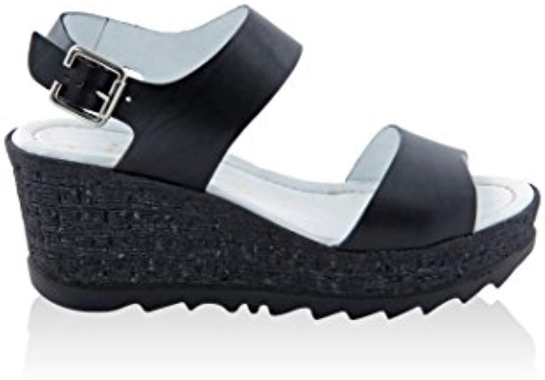 PIELIBRE DAMEN-90561_Vacchetta_Nero Glattleder 2018 Letztes Modell  Mode Schuhe Billig Online-Verkauf