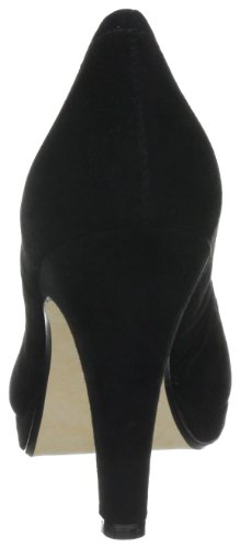 Buffalo London 325103 KID SUEDE 134479, Scarpe col tacco donna Nero (Schwarz (BLACK775))