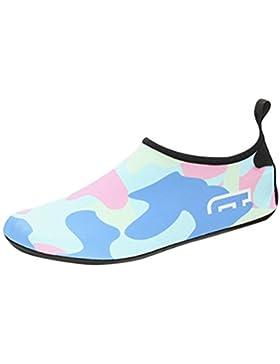 Zhhlaixing Zapatos de Niño Zapatos de Agua de natación Niños Zapatos de Niños descalzo Aqua Calcetines Para La...