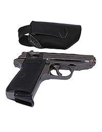 508 LEATHER MACHINE LIGHTER | Pistol Shaped Jet-flame Gun Cigarette Lighter
