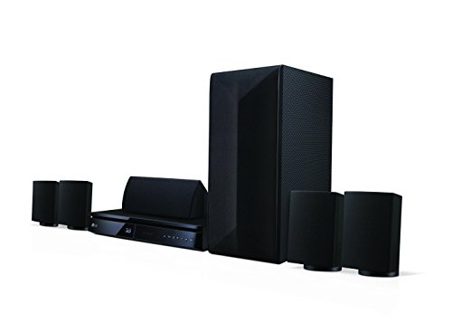 LG LHA725 5.1 3D Blu-ray Heimkinosystem (1000 Watt, Smart TV, DLNA, Bluetooth, 1080p Upscaling) schwarz - 2