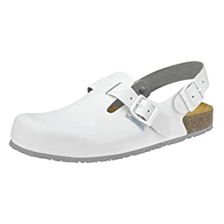 Abeba 8040Doctor Laboratory Shoes In White White white Size:43 EU