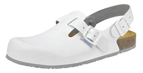 clinicfashion Clog weiß für Damen und Herren, Größe 35-46 Weiß