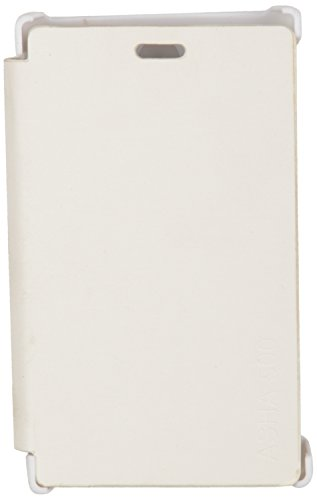 iCandy™ Synthetic Leather Flip Cover For Nokia Asha 500 - WHITE  available at amazon for Rs.109