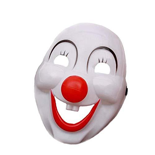Twisty Der Kostüm Clown - Halloween Clown Furchterregender Maske Mit Halloween Fasching Karneval Party Kostüm Cosplay Dekoration Beleuchtung Maske Fest Costume Mask Horror The Purge Wahl Jahr