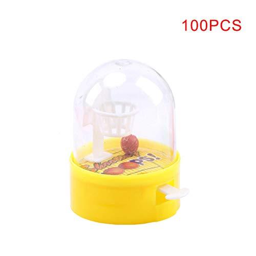 ketball Mini Palms gegen Stress Fidget Spielzeug Geschenke für Erwachsene Kinder 100pcs ()