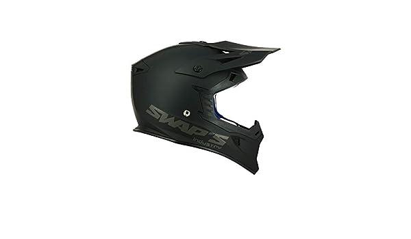 1fb27c575033c7 Amazon.fr   SWAP S Casque Moto Cross Blur S818 Noir Mat - Homologué ECE R22- 05
