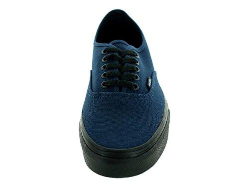 Vans - - Unisex-Adult authentische Schuhe (Black Sole) Dress Blues