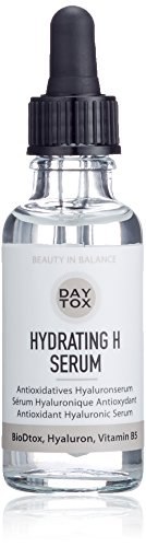 DAYTOX - Hydrating H Serum - Hochdosiertes Hyaluronserum mit Sofort-Effekt - Vegan, ohne Farbstoffe, silikonfrei und parabenfrei - 1 x 30 ml