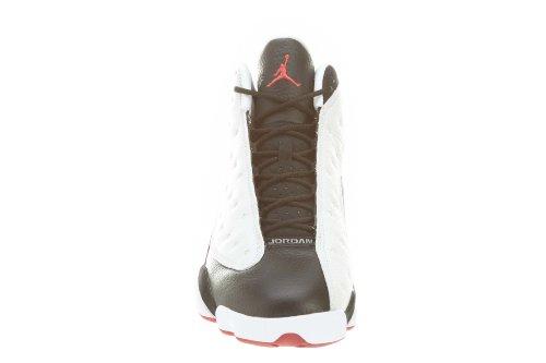 Jordan Air Jordan 13 Retro Cuir Baskets White-Black-Red