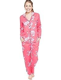 Cyberjammies Chloe Woven Floral Print Super Soft Pyjama Pajama Set  (4072 4073) 585012f9a