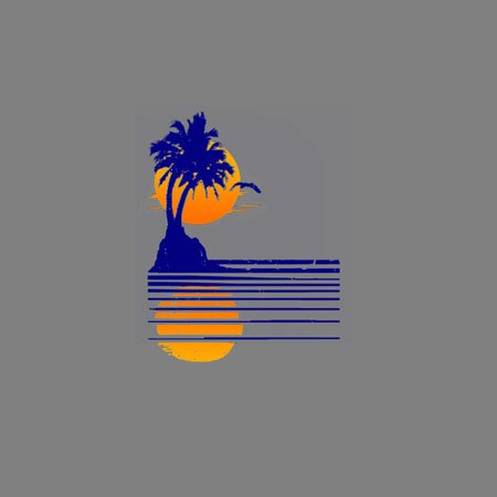 TEXLAB - Sundown - Damen T-Shirt Asphalt