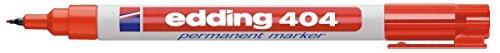 Preisvergleich Produktbild edding Permanentmarker edding 404, 0,75 mm, rot
