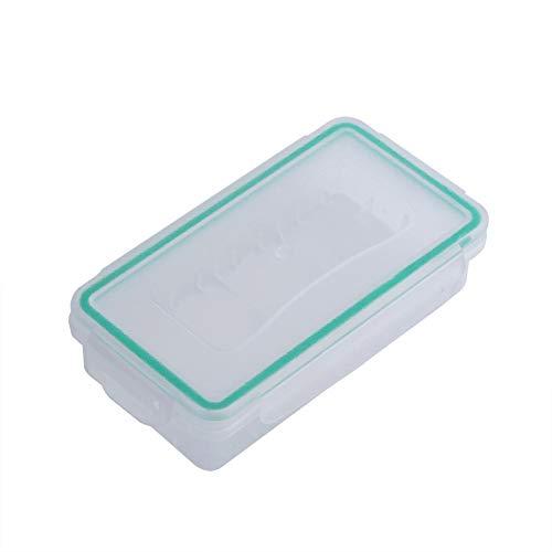 Zerone 18650 Caja de Almacenamiento de Soporte de batería, contenedor de batería de plástico Resistente a Prueba de Agua, Soporte de batería, Protector