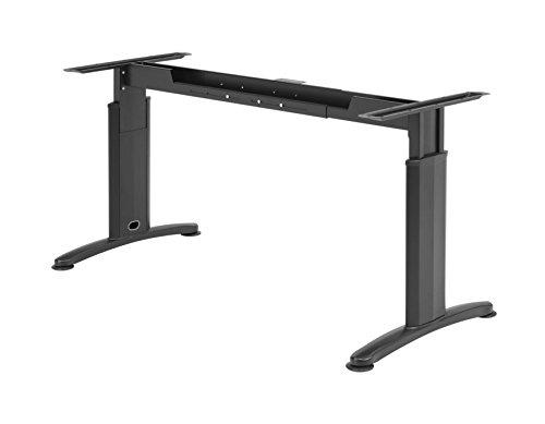 Schreibtisch untergestell verstellbar schwarz smash for Schreibtisch untergestell