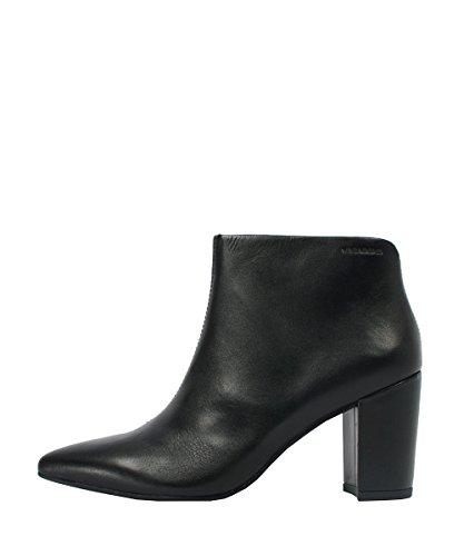 Vagabond Saida Leather Black - Stivaletti Nero In Pelle Black