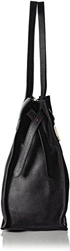 Tosca Blu TRAPPER TEA, Sacs portés épaule Noir - Schwarz (BLACK C99)