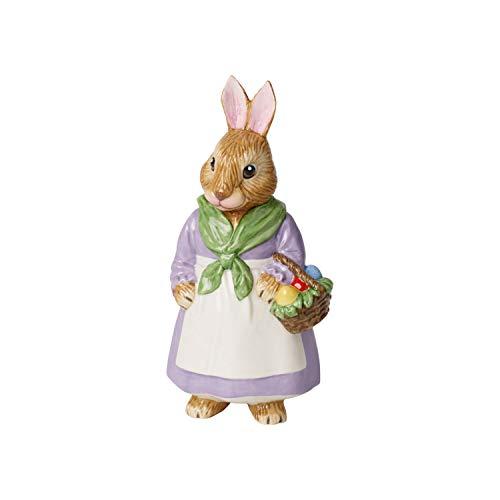 Villeroy & Boch Bunny Tales Porzellanfigur Mama Emma, Porzellan, Bunt