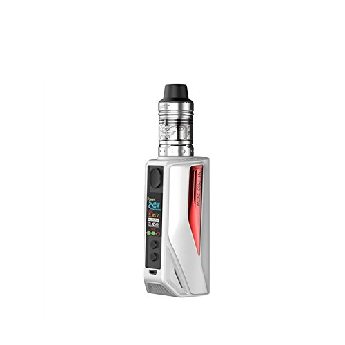 Vaptio N1 Pro 240W MOD Cigarrillo electrónico Caja recargable Mod No E Líquido No Nicotina (kit blanco y rojo)