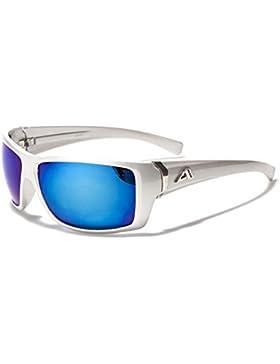 Arctic Blue Gafas de Sol - Gafas Unisex para Ciclismo / Deporte / Esqui / Correr - UV400 (UVA y UVB) con cristales...