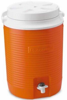 Rubbermaid 2 gallons d'Orange Victoire thermiques refroidisseurs d'eau Jug FG15300411