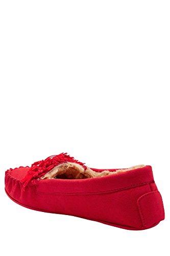 next Pantofole Donna Rosso