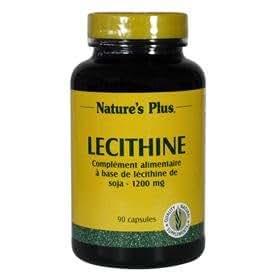 NATURE'S PLUS Lécithine de Soja - 90 comprimés