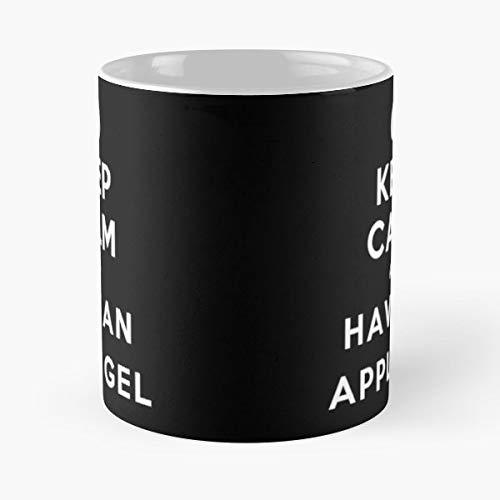 Science Scientist Periodic Table Keep Calm Tales Of Series Apple Gel - Best 11 oz Kaffee-Becher - Tasse Kaffee Motive -