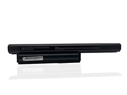 SHS Laptop-Akku für Sony VAIO VGP-BPS26A/VGP-BPS26/VGP-BPL26 Sony VAIO PCG-61 PCG-61713M PCG-61714M PCG-91 PCG-91211M CA Series EJ Series EG Series CB Series - Hohe Leistung [ 10.8V/6 Cells/4400mAh]