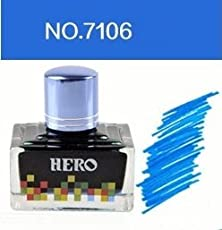 Success Stationery Hero Fountain Pen Extra Colour Noncarbon Nonblocking ink - 7106