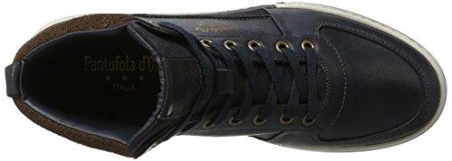Pantofola dOro Frederico Mid, Sneaker a Collo Alto Uomo Blu (Dress Blues)
