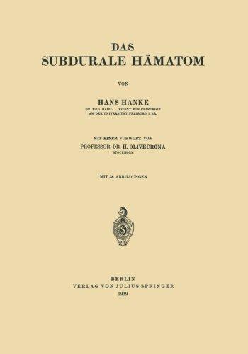 Das Subdurale Hämatom